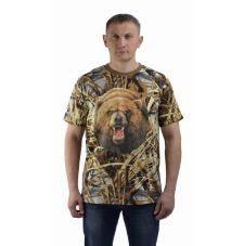 "Футболка ""Медведь круг"" КМФ. Мир футболок"