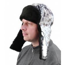 """Шапка """"Буран"""" кмф """"снежный лес"""" тк.Алова"""