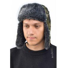 """Шапка-ушанка """"Ангара"""" иск.мех"""