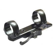 Быстросъемный кронштейн СА 30 mm на основания СА (база 110, расст. между кольцами 75)