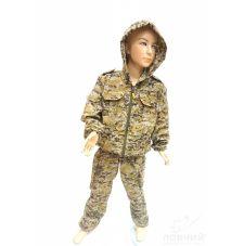 Костюм «Спецназ» детский (ткань: смесовая рип-стоп, цвет: коричневая цифра) Маугли